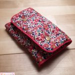 Porte-barrettes Liberty Betsy Ann rouge
